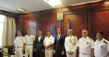 Delegaţie din Grecia, vizită la Prefectura Constanţa