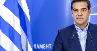 Premierul Tsipras promite reluarea creşterii economice a Greciei