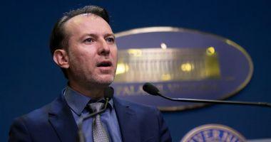 Florin Cîţu: Guvernul va aproba acte normative care nu suportă amânare