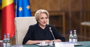 Premierul Viorica Dăncilă față cu Marea Neagră