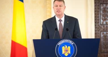 Klaus Iohannis: Foarte târziu, Guvernul a demisionat