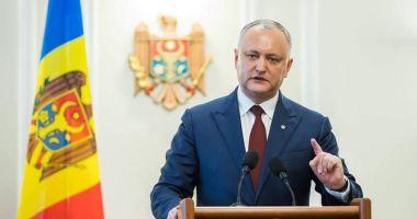 Preşedintele Republicii Moldova agită spectrul alegerilor anticipate