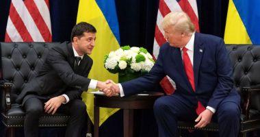 Președintele Ucrainei neagă orice fel de schimb de favoruri cu Donald Trump