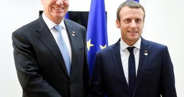 Preşedintele Franţei, în vizită în România