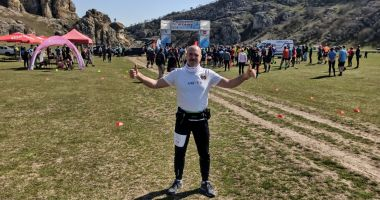 Fostul jandarm Marian Presură, reprezentantul veteranilor în Maratonul Argonauților
