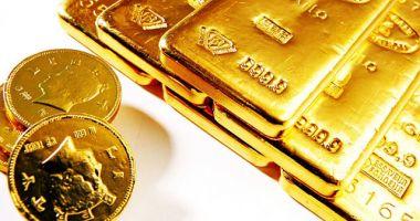 Prețul aurului a scăzut cu 0,55%