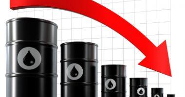 Prețul petrolului a coborât la 40,91 dolari pe baril