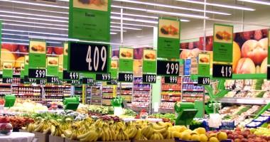 Preţurile au crescut în medie cu 1,2% faţă de anul trecut