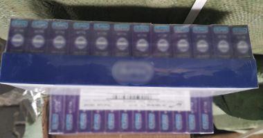 144.000 pachete cu prezervative, confiscate la Constanţa!
