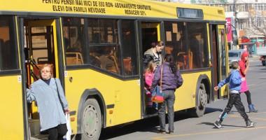 Prima cursă a autobuzelor RATC, la ora 12,00