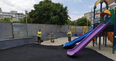 Primăria Constanța modernizează locul de joacă de pe aleea Daliei