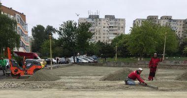 Primăria Constanța reabilitează locurile de joacă pentru cei mici