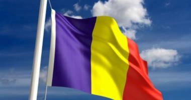 Primăria Techirghiol  a donat un drapel românesc confraţilor  din Sfântul Gheorghe
