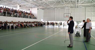 Primarul din Mangalia a inaugurat  o nouă sală de sport
