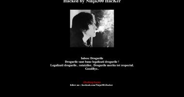 Site-ul Direcţiei de Sănătate Publică, hackuit de drogaţi