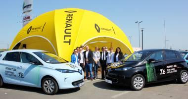 Renault Zoe, citadina 100% electrică. Test drive la Constanţa