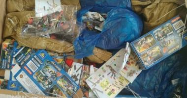 Zilnic, mii de produse contrafăcute circulă prin Portul Constanţa