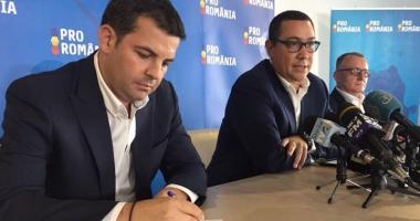 Pro România nu susţine moţiunea de cenzură a PNL