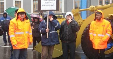 Protest cu mii de decibeli la Gara Maritimă