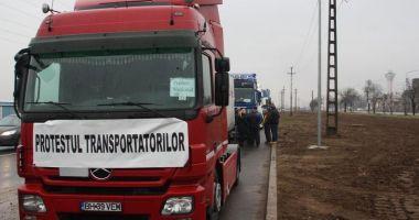 Transportatorii anunţă un protest la nivel naţional. Iată ce nemulţumiri au
