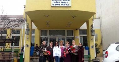 Femeile  din PSD Constanţa  au vizitat centrele pentru vârstnici