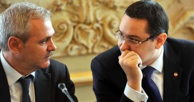 Ponta vrea să plece din PSD, Dragnea se opune