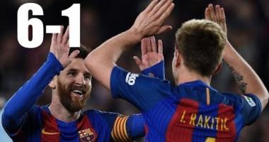 GEST CUTREMURĂTOR! UCIS după ce Barcelona a învins PSG cu 6-1