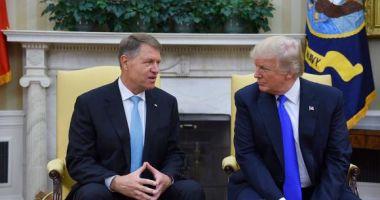 Klaus Iohannis se întâlnește cu Donald Trump