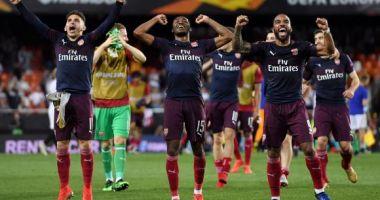 Valencia - Arsenal, încă un meci care aduce englezii într-o finală europeană