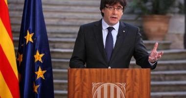 Mandat european de arestare pe numele lui Puigdemont, fostul lider secesionist din Catalonia
