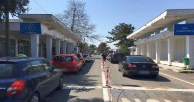 A scăzut traficul la punctele de trecere a frontierei din Constanța