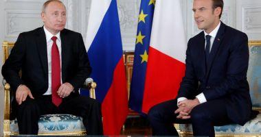 Putin şi Macron susţin  menţinerea acordului  privind programul nuclear iranian