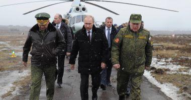 Vladimir Putin vizitează Crimeea, la 5 ani de la anexare