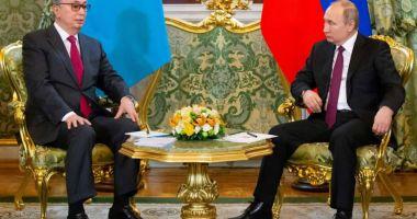 Putin şi Tokaev promit să întărească prietenia ruso-kazahă