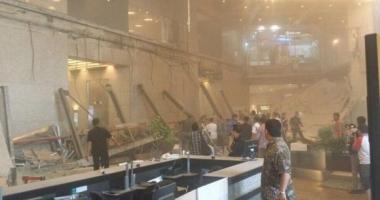 Un tavan al Bursei din Jakarta s-a prăbuşit: peste 70 de răniți