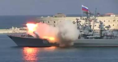 VIDEO. Incident în Crimeea, de Ziua Marinei: O fregată rusă a lansat accidental o rachetă