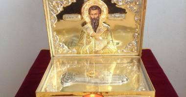 """Moa�tele Sf�ntului Vasile cel Mare, aduse la biserica """"Buna Vestire"""" din Constan�a"""