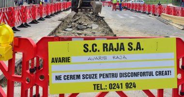 Atenție, șoferi! Trafic restricționat pe bulevardul Tomis. Se lucrează la conductele de apă