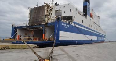"Rampa de acces a navei ""Euroferry Egnazia"" s-a prăbuşit"