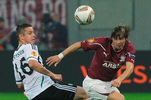 Fotbal, Liga Europa/ Rapid Bucureşti - Legia Varşovia 0-1