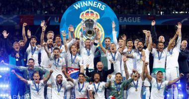 Real Madrid a detronat-o pe Manchester United şi a redevenit cel mai bogat club din lume