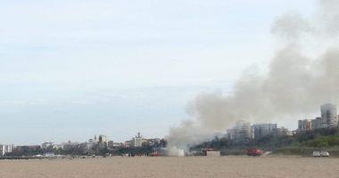 Incendiu pe Plaja Trei Papuci!
