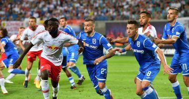 CSU Craiova, eliminată de RB Leipzig în turul trei preliminar din Europa League