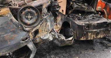 Galerie foto. Un șofer beat a făcut ravagii pe Autostrada Soarelui