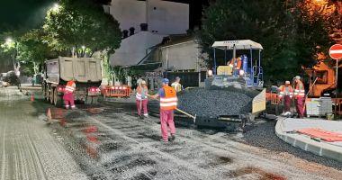 Restricții parțiale de circulație, la noapte, pe bulevardul Tomis