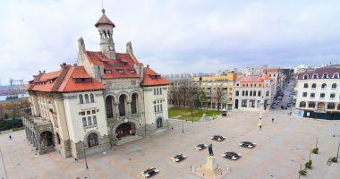 Restricții de circulație, vineri, în Piața Ovidiu