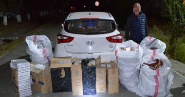 Reţea de contrabandişti  de ţigări, destructurată  de polițiștii de frontieră  din Constanţa