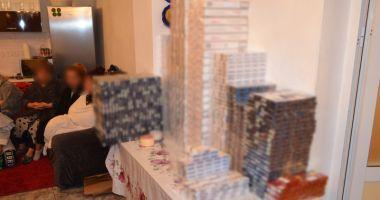 Reţea  de contrabandişti cu ţigări şi droguri, descoperită  de poliţiştii  de frontieră