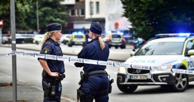 Poliţia din Malmo a împuşcat un individ ce manifesta un comportament ameninţător în public