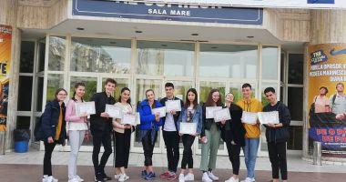 """Rezultate merituoase ale elevilor Colegiului """"Regina Maria"""" la Olimpiada de Arte Vizuale"""